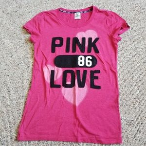 PINK Victoria's Secret Tops - Vintage PINK Victoria's Secret T Shirt Medium